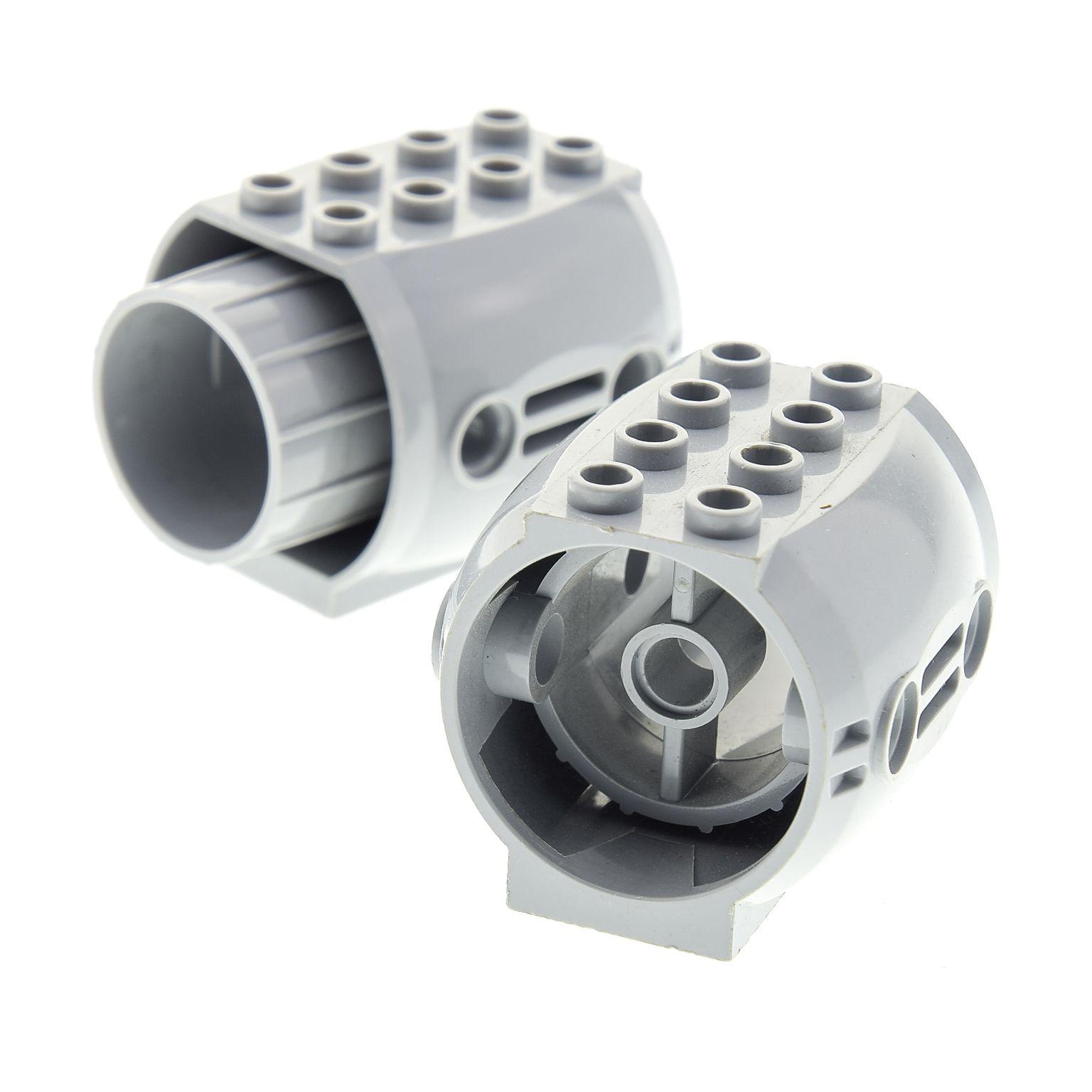 1x Lego Zylinder rund Stein schwarz 2x2 bedruckt Antrieb Star Wars 7133 30361px3