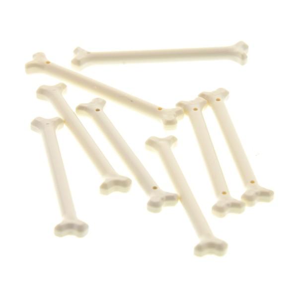 8 x Lego System Knochen weiss lang Figur Zubehör Set 4195 9467 70749 70746 4600307 92691