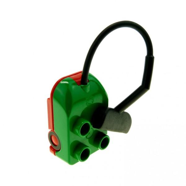 1 x Lego Duplo Staubsauger grün rot Puppenhaus Möbel Figur Zubehör Vacuum Cleaner 6509