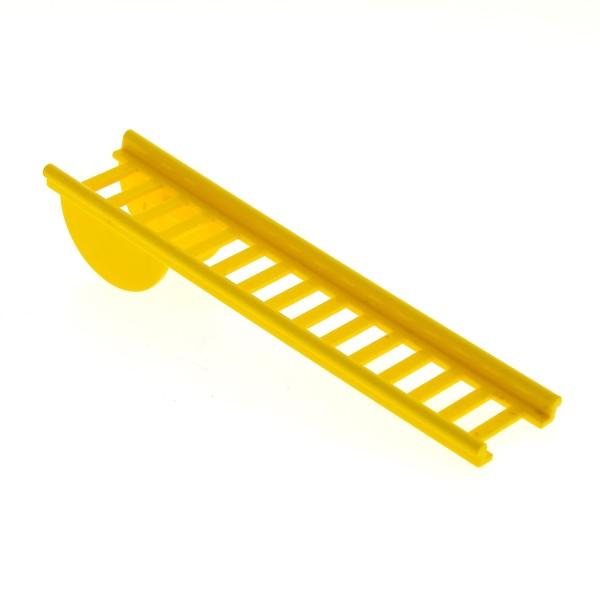 1 x Lego System Fabuland Leiter gelb mit halbkreisförmigen Drehpunkt Feuerwehr Set 3642 3682 140 4000
