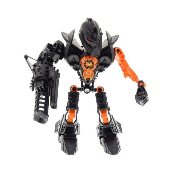 1 x Lego Bionicle Figur Set Modell Technic Hero Factory Heroes 7170 Jimi Stringer schwarz orange incomplete unvollständig