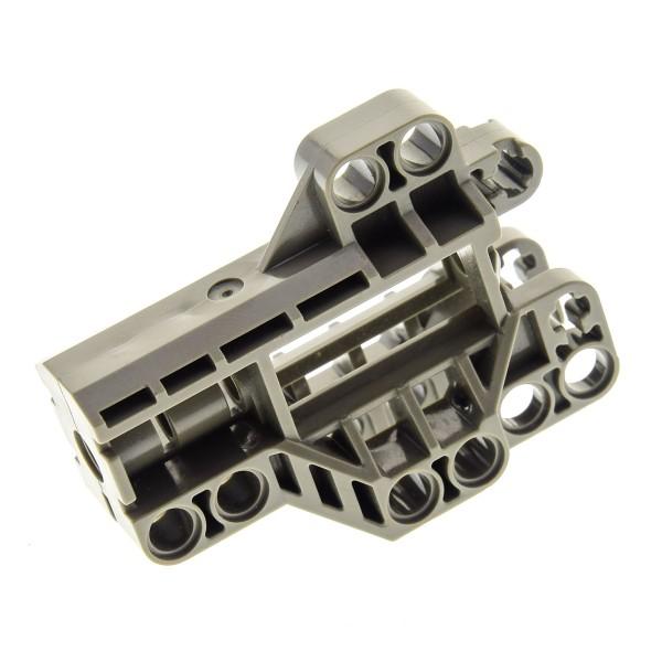 1 x Lego Bionicle Technic Liftarm Verbinder Block alt-dunkel grau 7x3 Motorrad Rad Halterung 8538 32308