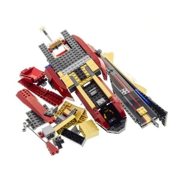 1 x Lego System Teile 7298 für Hubschrauber Set Dino 2010 Attacke Air Tracker Helicopter dunkel rot grau incomplete unvollständig
