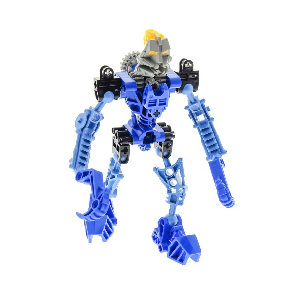 1 x Lego Bionicle Figur Set Modell Technic Toa 8533 Gali blau incompelte unvollständig