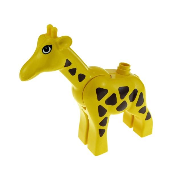1 x Lego Duplo Tier Giraffe groß gelb braun Stute Bauernhof Safari Zoo Zirkus 2259c01pb01