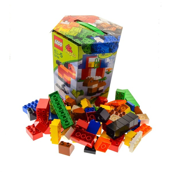 1 x Lego Duplo Set Modell 5748 Duplo Creative Building Kit OVP incomplete unvollständig
