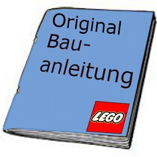 1 x Lego System Bauanleitung Orient Expedition Versteck des Yeti 7412