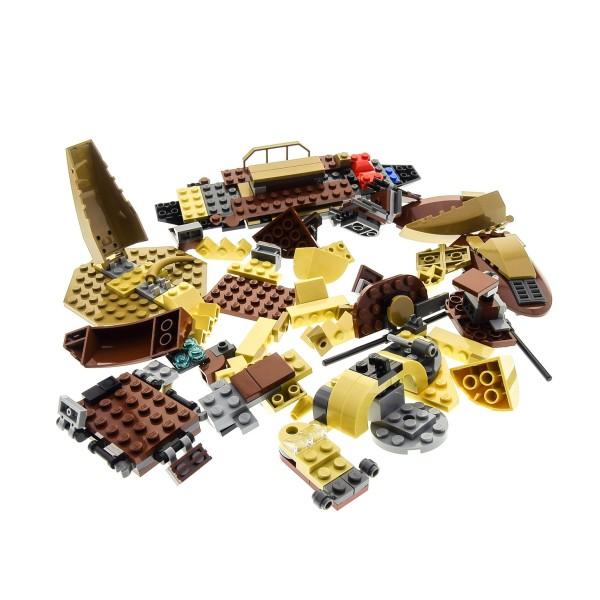 1 x Lego System Teile Set für Modell Star Wars Wüstenschiff 9496 braun beige unvollständig