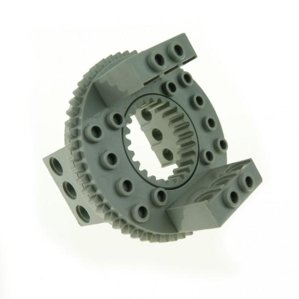 1 x Lego Technic Drehkranz alt-hell grau Turntable Technik rund Rad Zahnrad 2855 2856c01