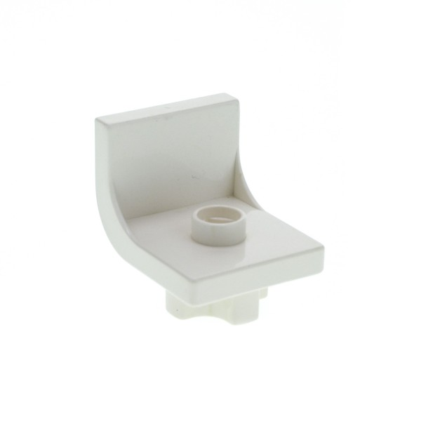 1 x Lego Duplo Stuhl weiss Sitz Chair Küche Wohnzimmer Schlafzimmer Puppenhaus Möbel 4839