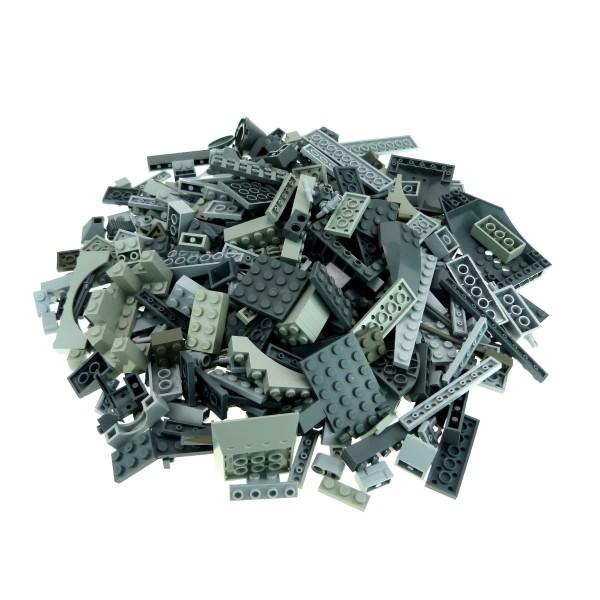 0,5 kg Lego System Basic Steine Sondersteine Kiloware sortiert nach Farbe hell dunkel grau Form zufällig gemischt 500 g Sortierung für Star Wars