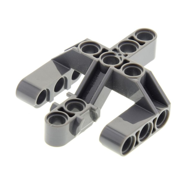 1 x Lego Technic Liftarm 3 Verbinder Gabeln neu-dunkel grau 5 x 6 x 2 Fingers 3 Star Wars 75534 75117 71316 6102645 19086