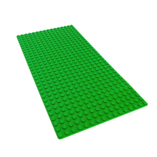 1 x Lego System Bau Basic Grund Platte Bright hell grün flach 32 x 16 Noppen 16x32 Wiese Rasen Baseplate 7418 6740 5891 7585 4173066 2748 3857