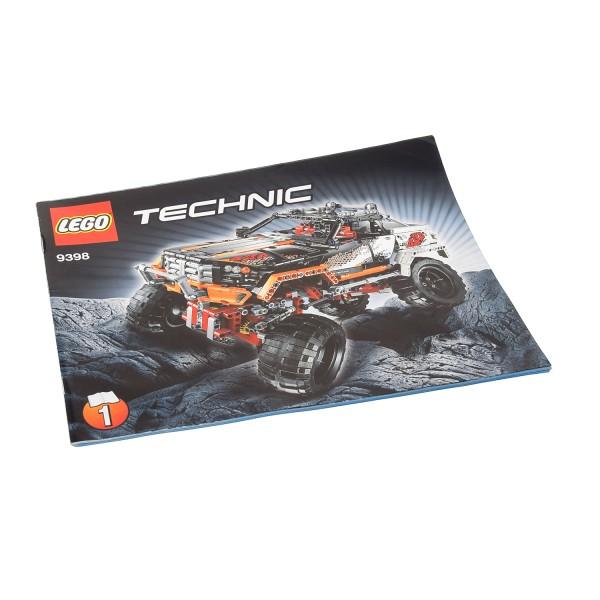 1 x Lego Technic Bauanleitung A4 Heft 1 für Set Off-Road 4x4 Crawler 9398