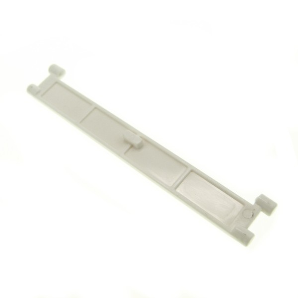 1 x Lego System Rolltor Lamelle weiss mit Griff Tür Element Garage 4219