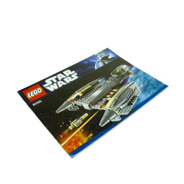 1 x Lego System Bauanleitung A4 für Set Star Wars Clone Wars General Grievous' Starfighter 8095