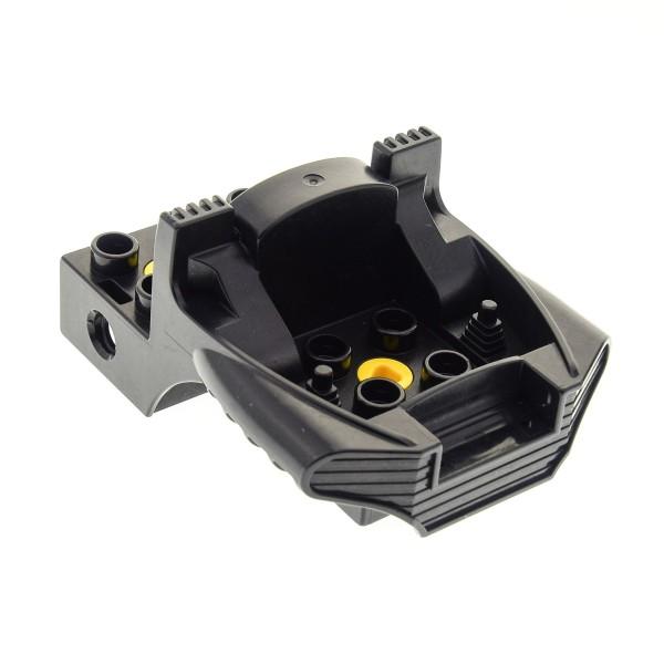 1 x Lego Duplo Toolo Führerhaus schwarz 4x6 Kanzel Cockpit Bau Stein Fahrzeug Frontlader Hubschrauber Set 2946 2949 2913 31196c01