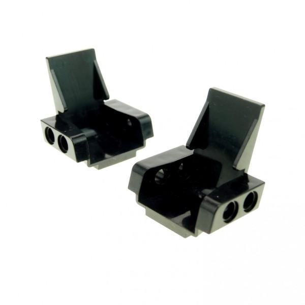 LEGO 5 x Technik Sitz schwarz Black Technic Seat 3x2 Base 2717