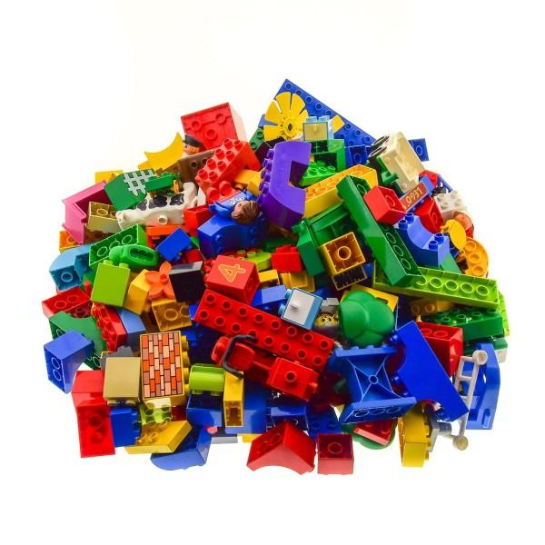4 Kg Lego Duplo Steine Basic Bau Stein Sondersteine Kiloware zufällig bunt gemischt z.B Figuren Autos Tiere