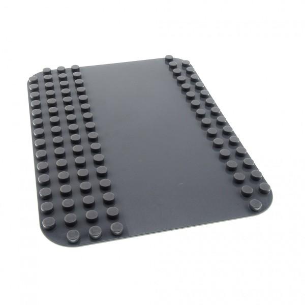 1 x Lego Duplo Bau Strassen Platte neu-dunkel grau Straße Weg 12 x 16 Noppen 12x16 für Set Feuerwehr 4694 5601 4233801 50384