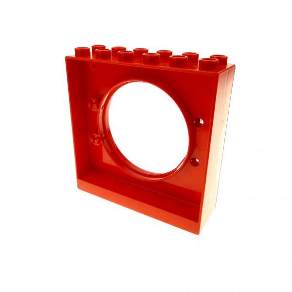 1 x Lego Duplo Kugelbahn Halter 2x6x5 rot Tür Tor Klappe Röhre 4114703 31191