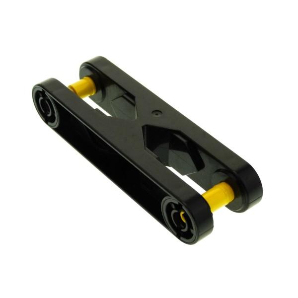 1 x Lego Duplo Toolo Stein schwarz 2x6 Arm Baustein Verbindung Verbinder 6279c01