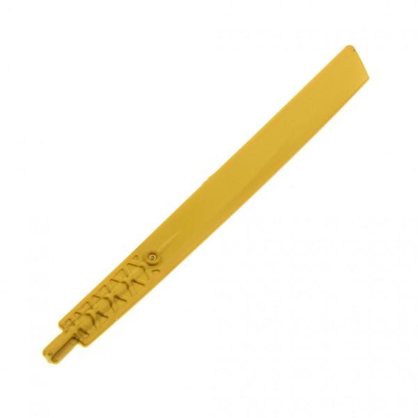 1 x Lego Technic Propeller Blatt perl gold 16L mit Achse Schwert verziert Set 9442 70505 70503 9449 70595 4646835 98135