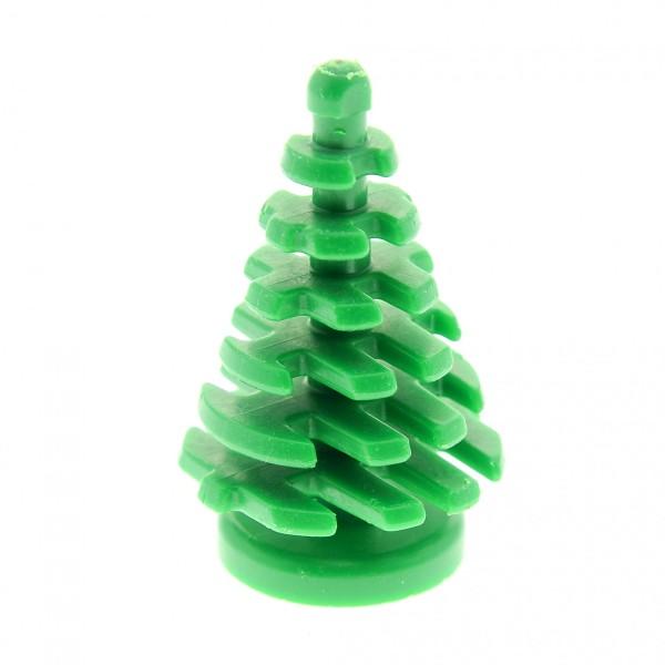 1 x Lego System Pflanze grün Tanne Pinie klein 2 x 2 x 4 Nadel Baum Tannenbaum City (kein Loch im Boden) 2435