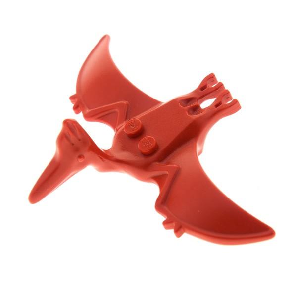 1 x Lego System Tier Flugsaurier rot Pteranodon Flug Dino Dinosaurier 5934 Dino Island Adventurers 30478