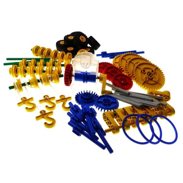 1 x Lego Duplo Set Modell für Educational & Dacta Duplo Learning 970680 Bau Steine Zahnrad Räder 9651 9652 9838 9659 incomplete unvollständig