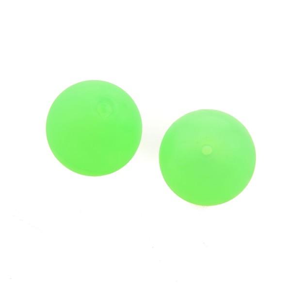 2 x Lego Bionicle Ball Bälle bright hell grün Kugel Perle Zubehör Monition Wurf Geschoss Zamor Sphere 54821