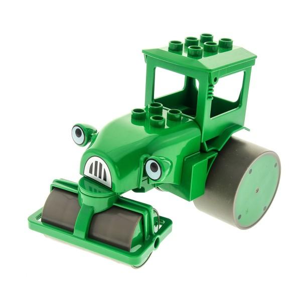 1x Lego Duplo Auto Rollo grün Walze Bob der Baumeister 3295 btb011 droleyc01