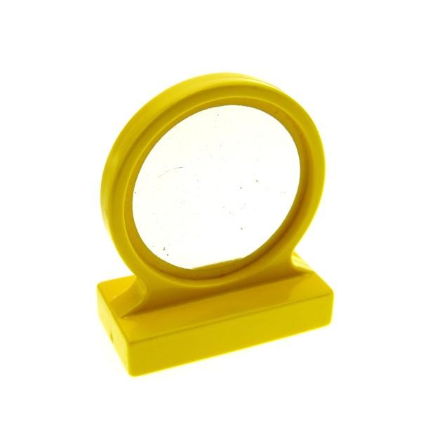 1 x Lego Duplo Möbel Spiegel gelb Puppenhaus Bad Badezimmer Mirror 4909
