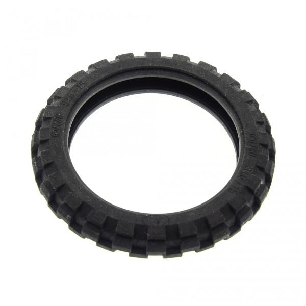 1 x Lego Technic Motorrad Rad Reifen schwarz 81.6x15 solo Bike Technik 290226 2902