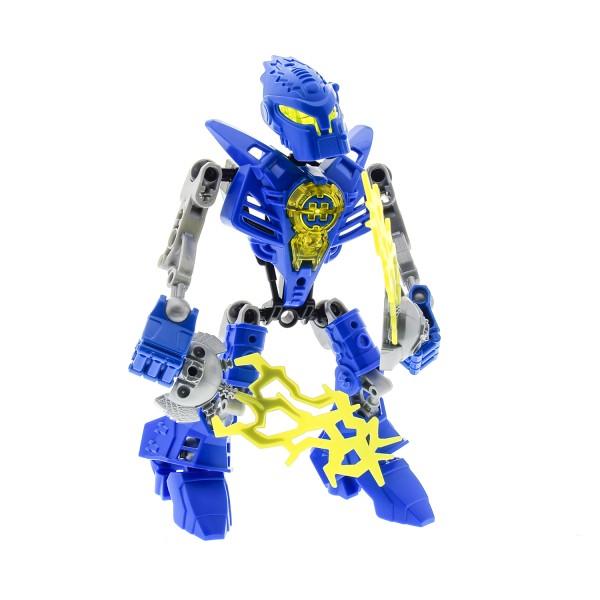 1 x Lego Bionicle Figur Set Modell Technic Hero Factory Heroes 7169 Mark Surge blau incomplete unvollständig
