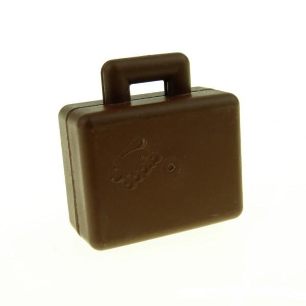 1x Lego Duplo Koffer braun Figur Zubehör Möbel Tasche Suitcase Puppenhaus 6427