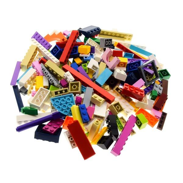 200 Teile Lego System Friends Bau Steine Kiloware für Elves bunt gemischt ca. 0,30 kg Sondersteine Farben gemischt z.B. rosa beige azure weiss violette rot gelb pink Erweiterung Ergänzung