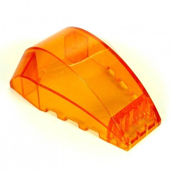 1 x Lego System Cockpit transparent orange 6 x 4 x 2 windscreen Ufo Mars Space Kanzel Kuppel Fenster 41883
