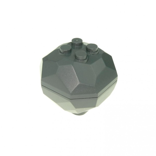 1 x Lego System Fels neu-dunkel grau Brocken Felsen Stein Castle Star Wars 30293 30294c01