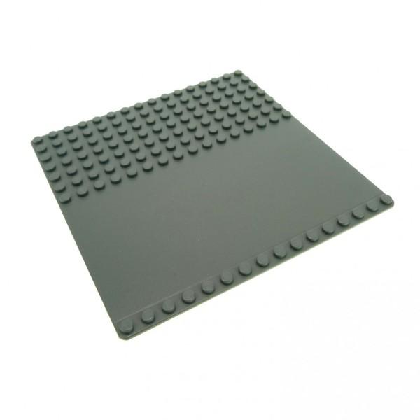 1x Lego Bau Platte neu-dunkel grau 16x16 flach Grundplatte Straße 51595 30225