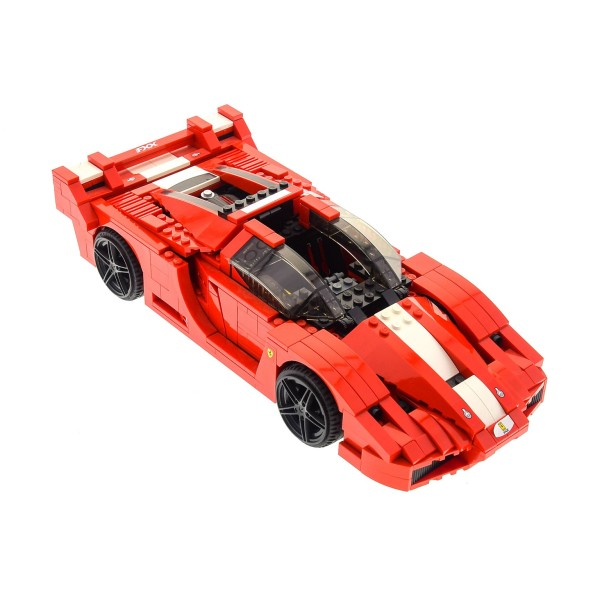 1 X Lego System Set Modell Racers 8156 Ferrari Fxx 1 17 Rot Incomplete Unvollständig Steinpalast En