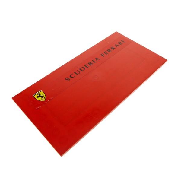 1 X Lego System Platte Fliese Rot 16 X 8 Ferrari Flach Bauplatte Mit Scuderia Ferrari Aufkleber 8185 8654 7637 48288pb10