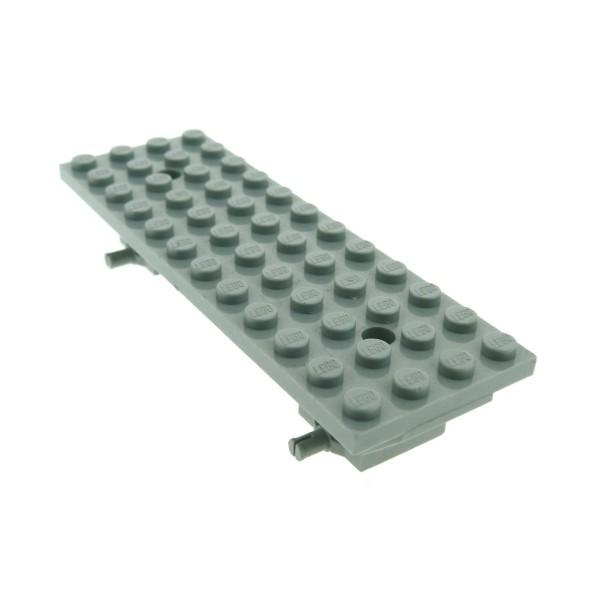 1 x Lego System Fahrgestell alt-hell grau 4 x 12 x 1 2/3 LKW Auto Fahrzeug Unterbau Platte Chassis für Set 6328 6434 bb48