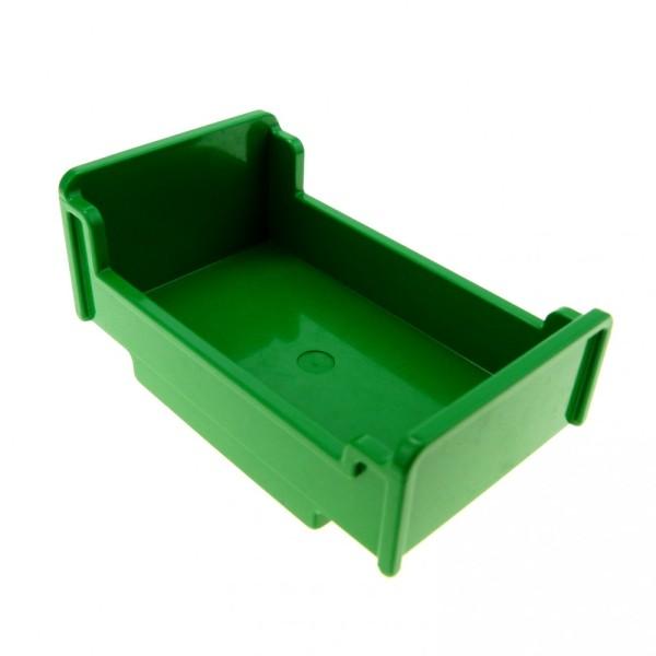 1 x Lego Duplo Möbel Bett grün 3x5x1 2/3 Schlafzimmer Puppenhaus 76338 4895