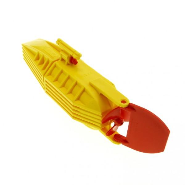 1 x Lego System Electric Motor gelb 14 x 4 x 4 mit Propeller Schraube Ruder Boot Schiff Antrieb Electric geprüft 7244 4669 48064c01