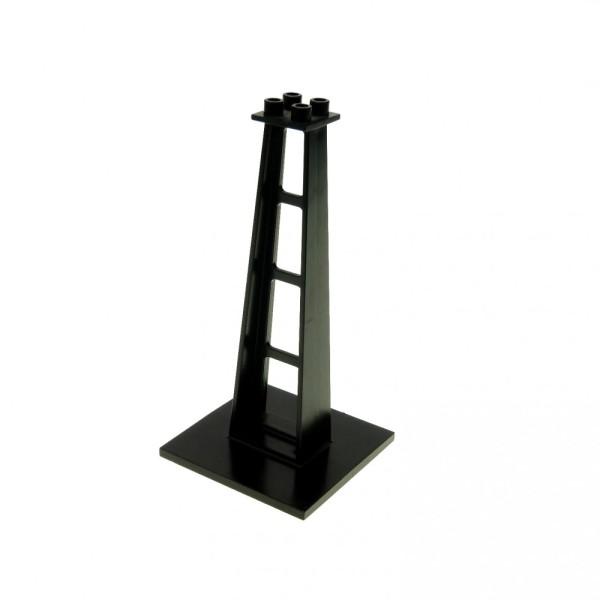 1 x Lego System Stütze schwarz 6x6x10 Säule Pfeiler Träger Blacktron Monorail bridge 6991 6988 4565 6399 2681