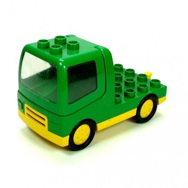 1 x Lego Duplo LKW grün gelb Laster Auto Lastwagen Zugmaschine duptruck01c01 31077