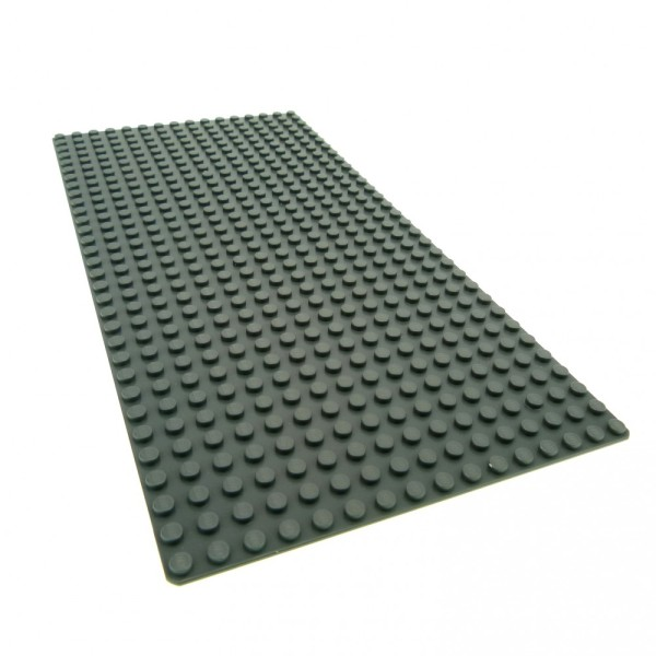 1 x Lego System Bau Platte 16 x 32 neu-dunkel grau flach 16x32 Noppen Star Wars Ferrari 3182 7775 21005 8144 LIT2009 10190 10213 10184 4269651 2748 3857