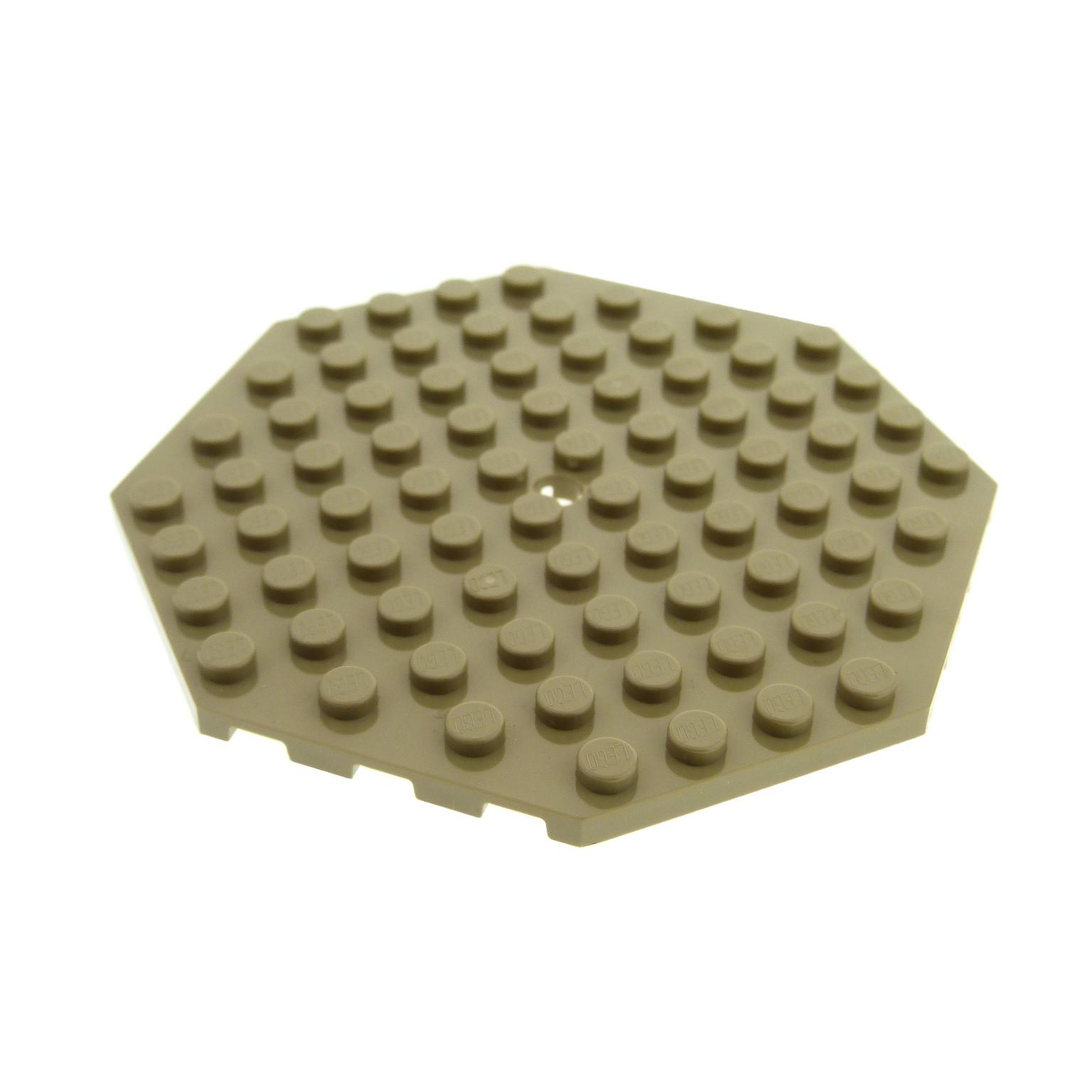 1 x Lego System Bau Platte dunkel beige tan 10x10 Star Wars 9496 4584485 89523
