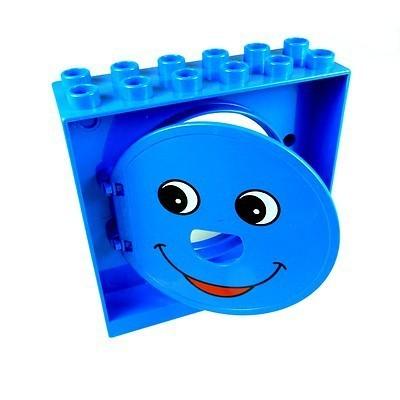 000 Kugelbahn Halter Tür Tor Klappe blau Lego Duplo C41
